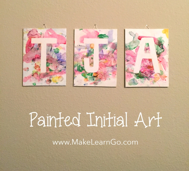 Painted Initial Art_text