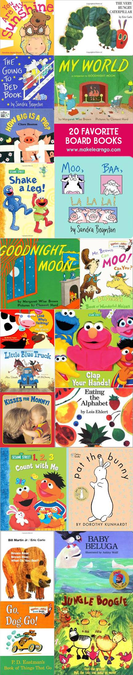 20 Favorite Board Books