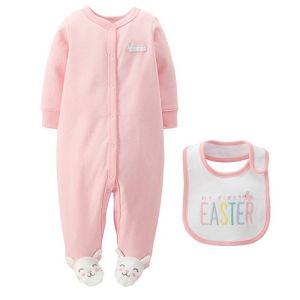 Baby Girl Bunny PJs