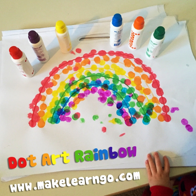 Dot Art Rainbow1
