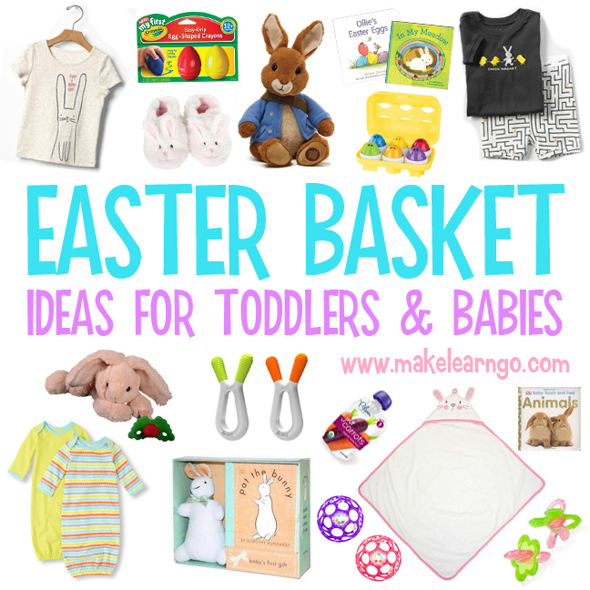 Easter basket ideas for toddlers and babies easter basket idea negle Choice Image