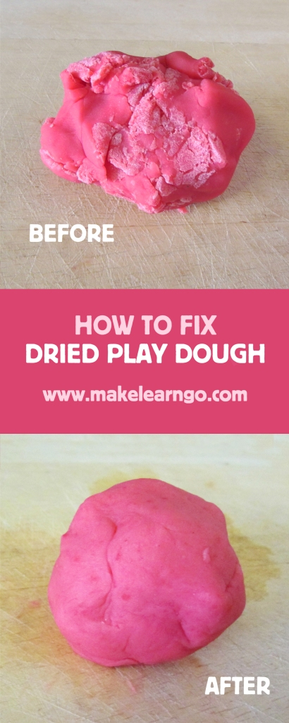 Fix Dried Play Dough