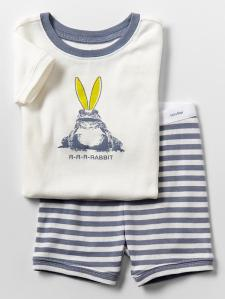 Rabbit Frog PJs