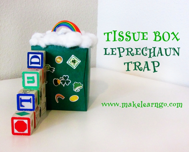 Tissue Box Leprechaun Trap