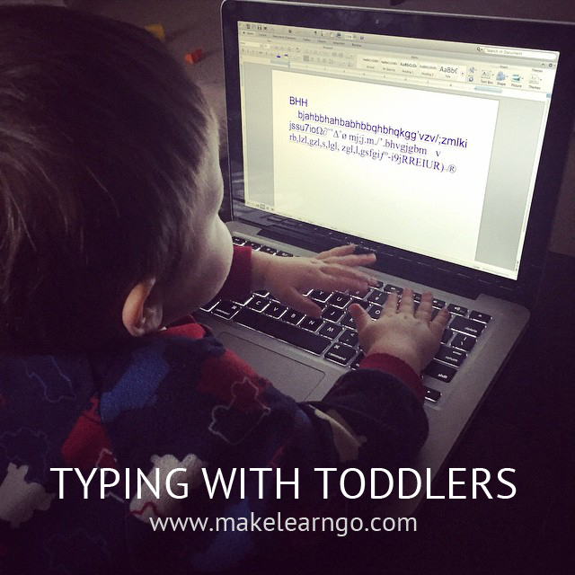 Typing with Toddlers