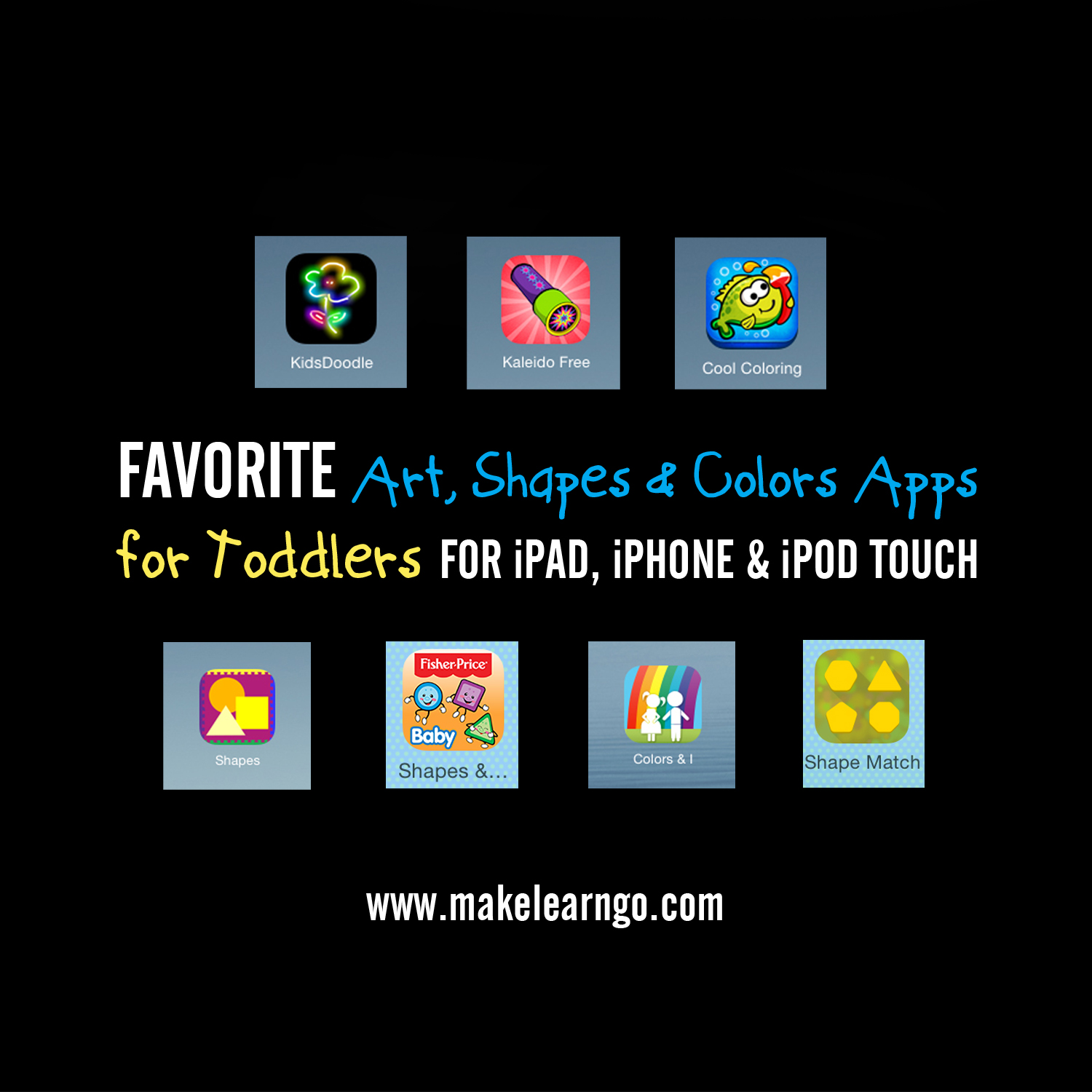 Favorite (Mostly Free!) Art, Shapes & Colors Apps (iPad ...